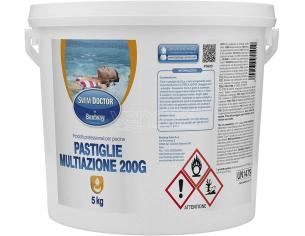 Pastiglie Multiazione da 200 gr Confezione da 5 Kg Swim Doctor Bestway 59021