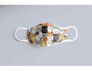 Cats Bambino Face Mask Maschera Sd Toys