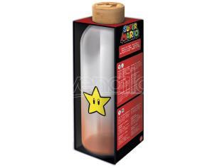 Nintendo Super Mario Bros Bottiglia Di Vetro 1030ml Stor