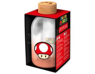 Nintendo Super Mario Bros Bottiglia Di Vetro 620ml Stor
