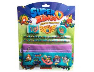 Super Zings Set Cartoleria Con Astuccio Cyp Brands