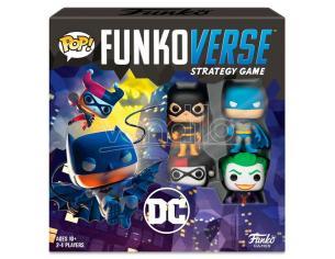 Pop Funkoverse Spagnolo Gioco Da Tavolo Dc Comics 4 Pezzi Funko