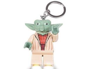 Star Wars Lego Portachiavi LED Figura Yoda 6 cm JoyToy