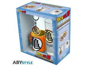 "Dragon Ball - Pck Bicchieri 29cl + Portachiavi + Mini Tazza ""kame Symbol"""