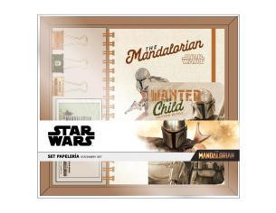 Star Wars The Mandalorian Yoda Bambino Set Cartoleria Cerdà