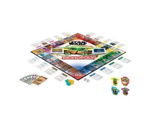 Star Wars The Bambino Spagnolo Monopoly Game Hasbro