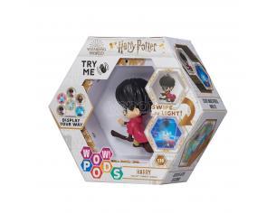 Harry Potter Wow! Pods Figura Harry con Scopa Quidditch con Illuminazione 6 cm