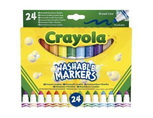 Crayola Set 24 Washable Broad Line Markers Crayola