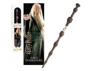 Harry Potter Bacchetta Albus Silente + Segnalibro 3D Noble Collection