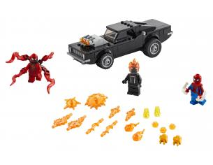 LEGO SUPER EROI 76173 - MARVEL SPIDER-MAN E GHOST RIDER VS CARNAGE