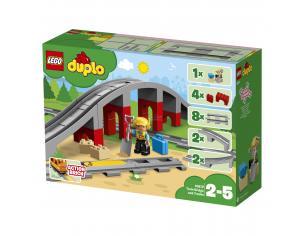 LEGO DUPLO 10872 - PONTE E BINARI FERROVIARI