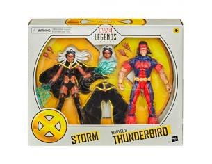 Marvel X-men Storm E Thunderbird Figures Set 15cm Hasbro