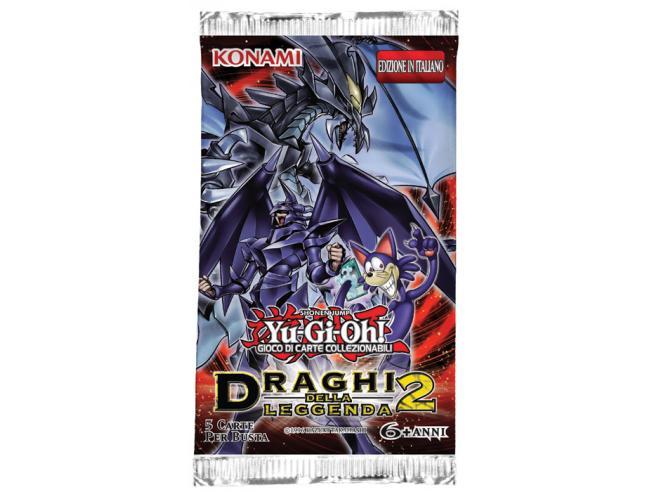 YU-GI-OH! DRAGHI DELLA LEGGENDA 2 BUSTA CARTE - DA GIOCO/COLLEZIONE