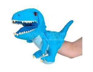 Jurassic World Raptor Hand Puppet Peluche 25cm