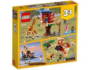 LEGO CREATOR 31116 - CASA SULL'ALBERO DEL SAFARI