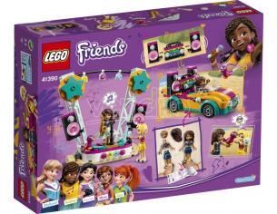 LEGO FRIENDS 41390 - L'AUTO E IL PALCO DI ANDREA