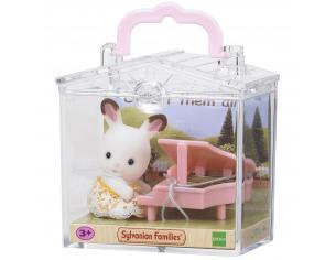 Sylvanian Family 5202 - Bebè Coniglio e pianoforte