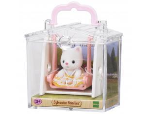 Sylvanian Family 5201 - Bebè Gatto e altalena