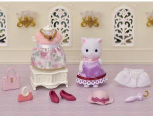 Sylvanian Family 5461 - Set da Gioco Fashion per la città - Gatti Persiani