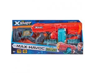 X-SHOT DART BLASTER EXCEL MAX HAVOC ARMI GIOCATTOLO