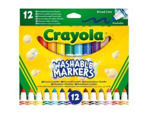 Crayola Set 12 Washable Broad Line Markers Crayola