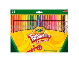 Crayola 24 Twistables Crayons Crayola