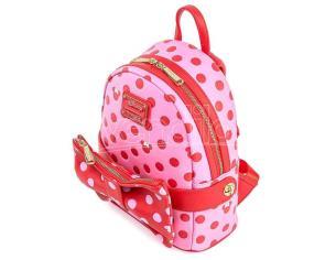 Loungefly Disney Minnie Pink Polka Dot Zaino 31cm Loungefly