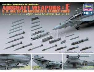 HASEGAWA 36117 AIRCRAFT WEAPONS E 1:48 KIT Modellino