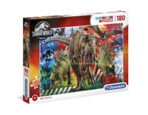 Jurassic World Puzzle 180 Pezzi Clementoni