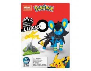 Pokémon Mega Construx Wonder Builders Construction Set Luxio 10 Cm Mattel