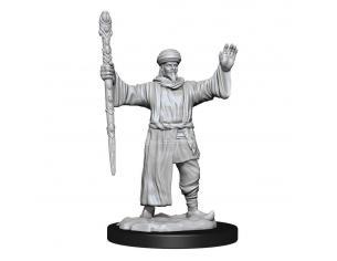 D&d Nolzur's Marvelous Miniatures Unpainted Miniatures Human Wizard Male Case (6) Wizbambino