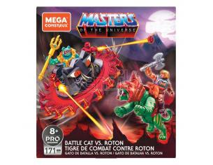 Masters Of The Universe Mega Construx Probuilders Construction Set Battle Cat Vs. Roton Mattel