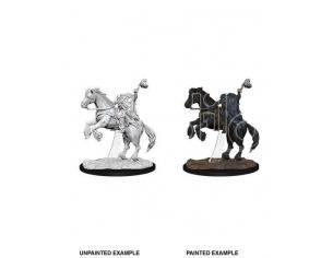 Pathfinder Battles Deep Cuts Unpainted Miniatures Dullahan (headless Horsemen) Case (6) Wizbambino