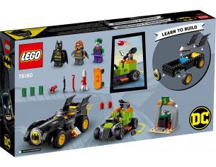 LEGO SUPER EROI 76180 - BATMAN VS JOKER INSEGUIMENTO CON LA BATMOBILE