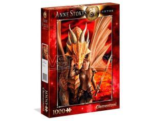 Anne Stokes Inner Strength Puzzle 1000 Pezzi Clementoni