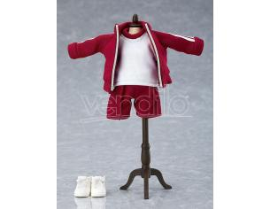 Original Character Parts For Nendoroid Bambola Figures Outfit Set (gym Clothes - Red) Good Smile Company