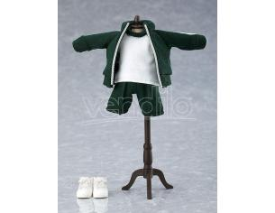 Original Character Parts For Nendoroid Bambola Figures Outfit Set (gym Clothes - Green) Good Smile Company