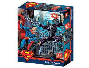 Dc Comics Superman Vs Braniac Prime 3d Puzzle 500 Pezzi Prime 3d