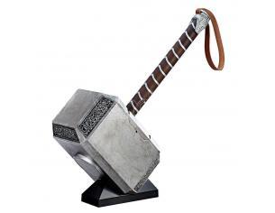 Thor Marvel Legends Serie Figura Replica Martello Elettronico Articolato Mjolnir 50 cm Hasbro
