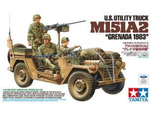 TAMIYA 35332 US UTILITY TRUCK M151A2 GRENEDA 1983 1:35 KIT  Modellino