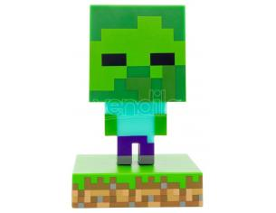 Minecraft 3D Icon Light Zombie Paladone Products