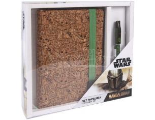 Star Wars The Mandalorian Set Yoda Bambino Cartoleria 25x3x24 Cm Cerdà