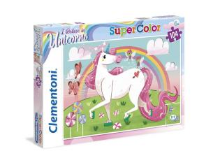 I Believe In Unicorns Puzzle 104 Pezzi Clementoni