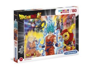 Dragon Ball Puzzle 180 Pezzi 48,5x33,5cm Clementoni