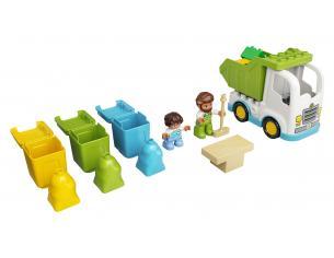 LEGO DUPLO 10945 - CAMION DELLA SPAZZATURA E RICICLAGGIO