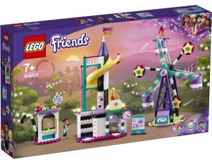 LEGO FRIENDS 41689 - LA RUOTA PANORAMICA E LO SCIVOLO MAGICO