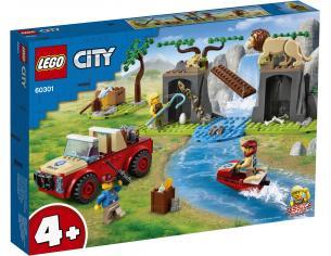 LEGO CITY 60301 - FUORISTRADA DI SOCCORSO ANIMALE