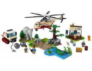 LEGO CITY 60302 - OPERAZIONE DI SOCCORSO ANIMALE
