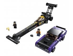LEGO SPEED CHAMPIONS 76904 - MOPAR DODGE/SRT DRAGSTER E DODGE CHALLENGER 1970