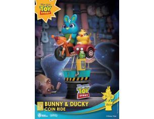 Disney Coin Ride Series D-Stage PVC Diorama Bunny & Ducky 16 Cm Beast Kingdom Toys